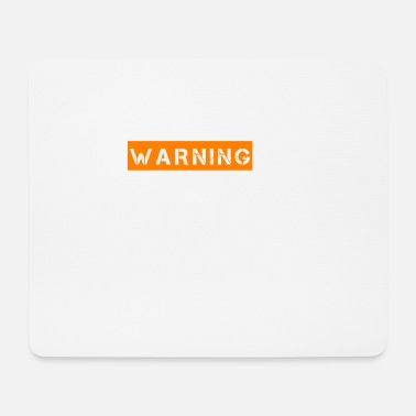 Ego warning - Mouse Pad