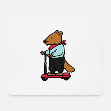 Electricity Electric scooter scooter e-scooter sport cool gift - Mouse Pad