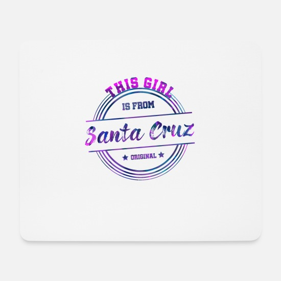 Bolivie Tapis de souris  - Santa Cruz Girl - Tapis de souris blanc