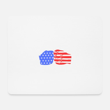 American Jiu Jitsu Fighter - Mousepad