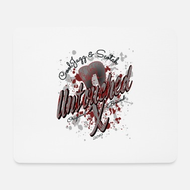 CoolJazz & Scotch Untouched Mojo Design T-Shirt - Mouse Pad