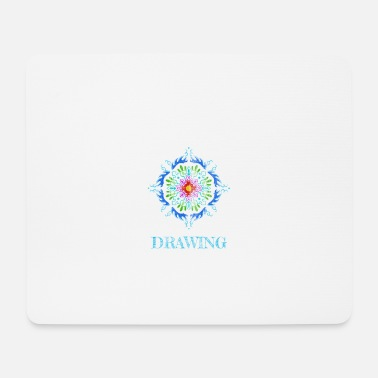 Artist Drawing artist painter artist and artist - Mouse Pad