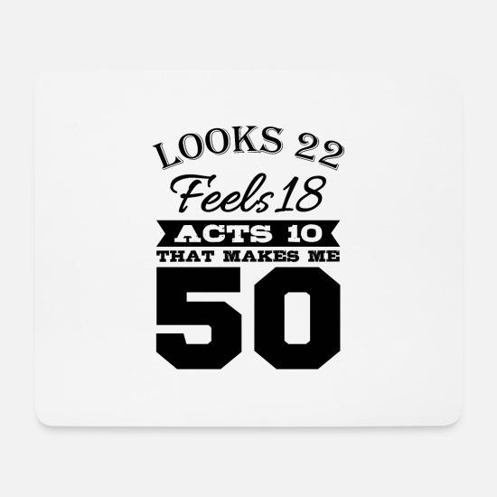 Fonkelnieuw Verjaardag 50 jaar Muismat | Spreadshirt HI-82