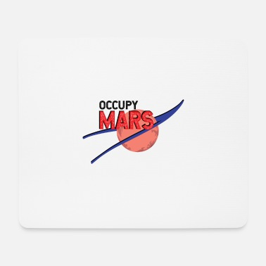 Occupy Occupy Mars Logo Red Planet Exploration - Muismat