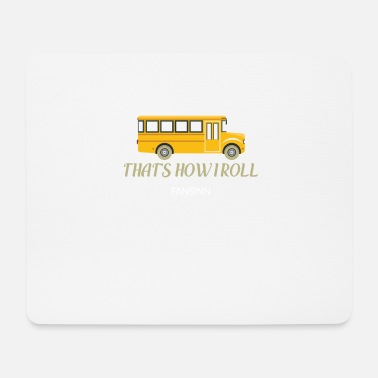 Count School bus funny school learning gift lessons - Mouse Pad