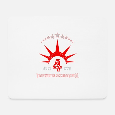 Congress 4th of July Statue of Liberty Crown Independence - Mouse Pad