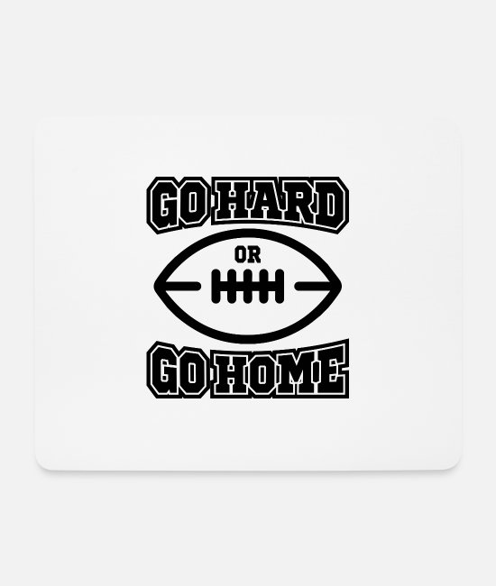 Training Mouse Pads - American football - Mouse Pad white