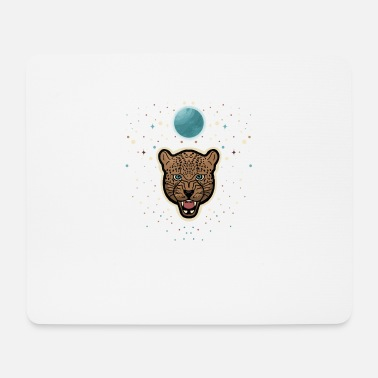 Jaguar Space and Stars - Mousepad