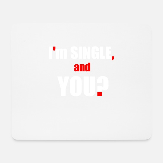 Love Mouse Pads - Flirt Help - Mouse Pad white