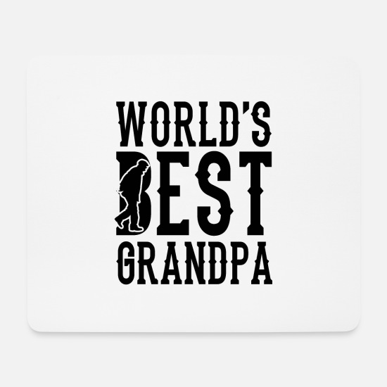 Grandpa Mouse Pads - Grandpa grandpa sayings - Mouse Pad white