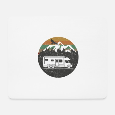 Motorhome Motorhome Camping Camper - Mouse Pad