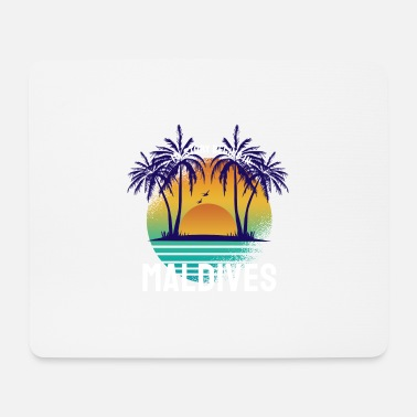 My Story begins in Maldives - Mouse Pad
