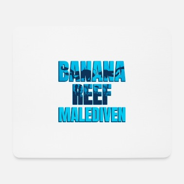 Banana Reef Maldives - Mouse Pad