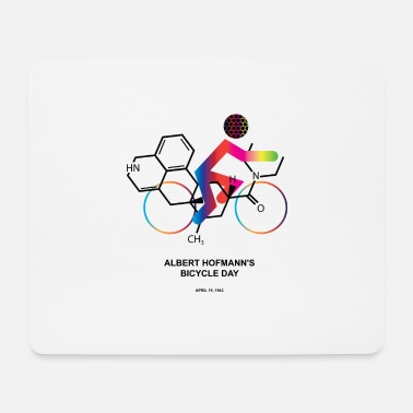 Albert Hofmann Albert Hofmann's Bicycle Day - Mouse Pad