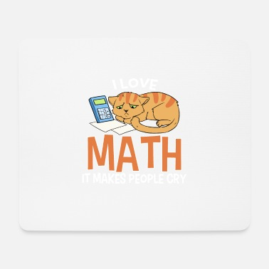 Maths Math math cat - Mouse Pad
