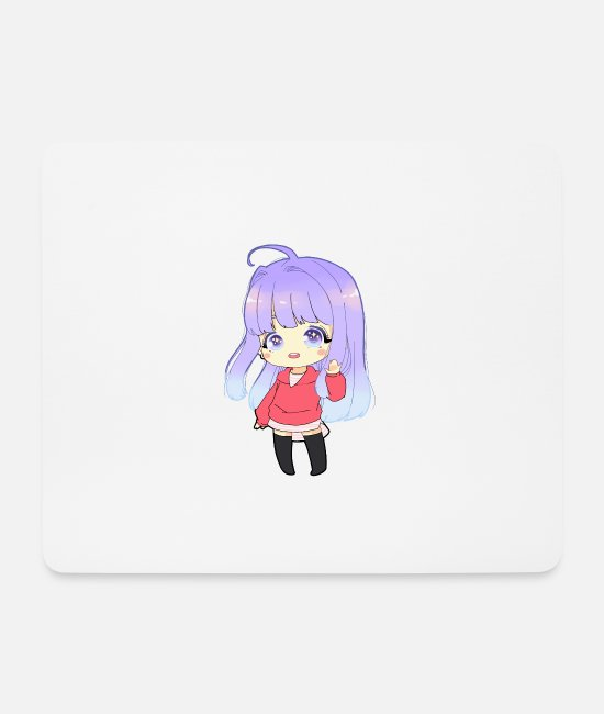 Big Eyes Mouse Pads - Sweet - Mouse Pad white