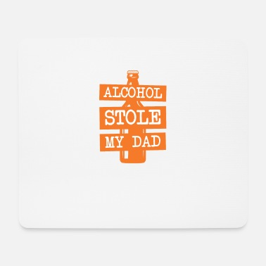 Alcoholic Anti Alcohol Alcohol dependent alcohol addiction - Mouse Pad