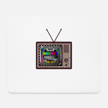 Television GDR television BRD television - Mouse Pad