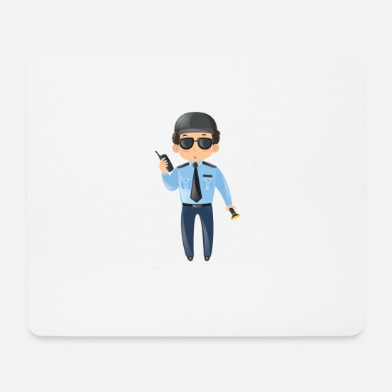 Agent Mouse Pads - Security - Mouse Pad white