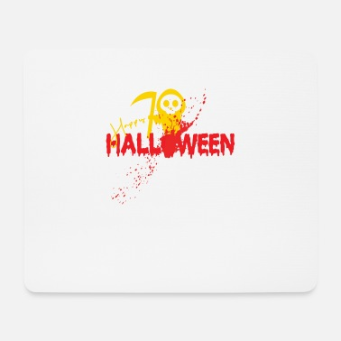 Reaper Happy Halloween with cute Sensemann - Mouse Pad