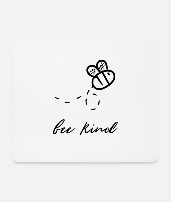 Hum Mouse Pads - Bee bees bee kill bee bee bee - Mouse Pad white