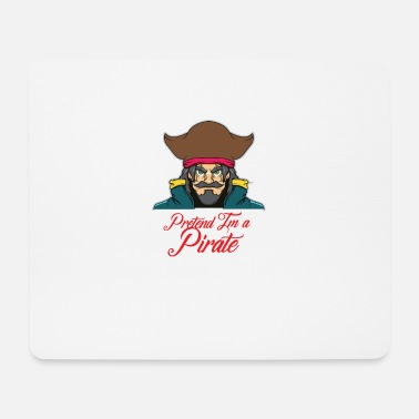 Pirates Pirate pirate captain Halloween pirate - Mouse Pad