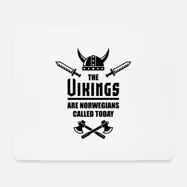 Eirik The Vikings Are Norwegians Called Today - Mousepad