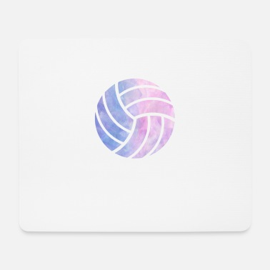 Volleyball watercolor sports gift - Mouse Pad