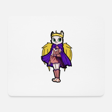 Fairy King Cats Fairy Elf Queen Fantasy Kids Fable Baby - Mouse Pad