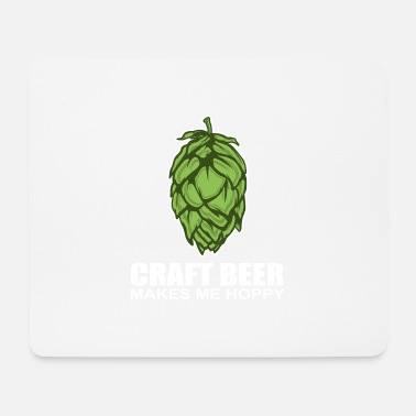 Brewery Beer Craft Hops Nature Funny Happy Gift - Mouse Pad