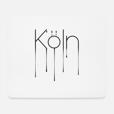 Köln Winter Köln Liquid - Design - Mousepad