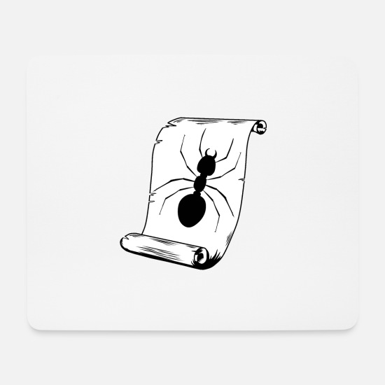 Ant Mouse Pads - Ant insect insect - Mouse Pad white