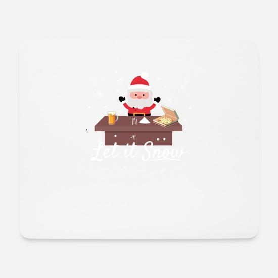 Santa Claus Cola Cocaine Trend Meme Kerstmis Muismat Spreadshirt