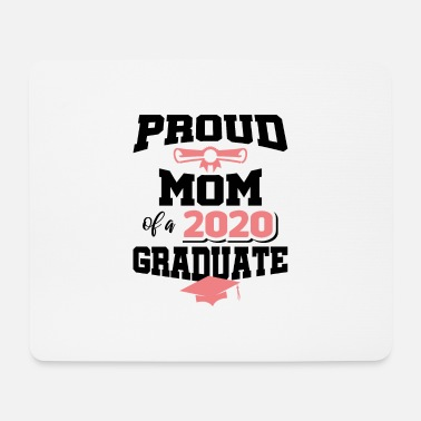 Bachelor Master Absolvent 2020 pourd Mom Promotion Sponsion - Mousepad