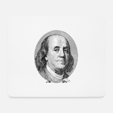 Federal Reserve $ 100 Benjamin Franklin - Mouse Pad