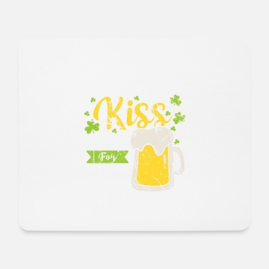 St Patrick's Day Beer Drinking - Mouse Pad