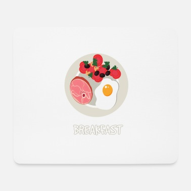 Fries Breakfast plate - Mouse Pad