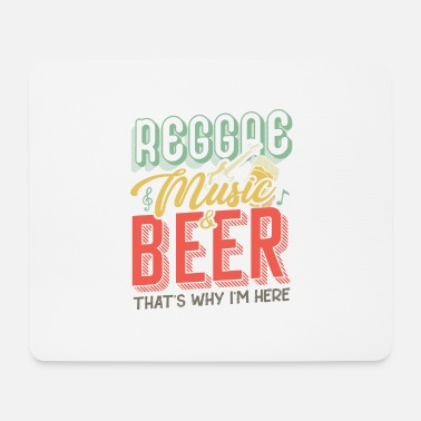 Ragga Raggae music and beer - Mouse Pad