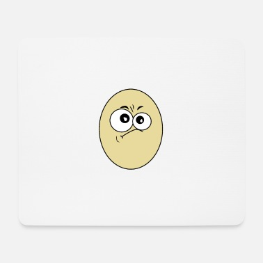 Egg EGG with egg head - Mouse Pad