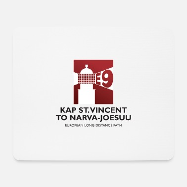 European Long Distance Hiking Trail E9 - Cape St. Vincent to Narva-Joesuu - Europe - Mouse Pad