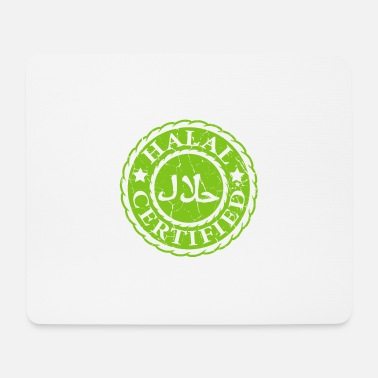 Arabic 100% Halal Muslim and Diet Expert gift - Mouse Pad