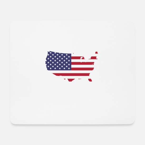 Patriot Mouse Pads - My Husband Just Became A US Citizen - Mouse Pad white