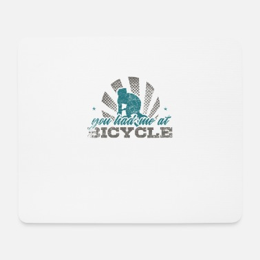 Bike Bike bike - Mouse Pad