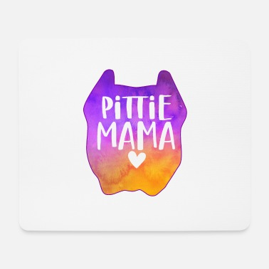 Pittie Mama - Mouse Pad