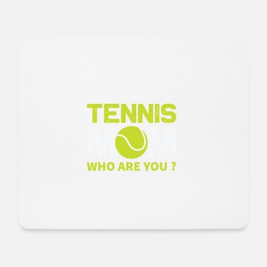 Tennis Is Life Le tennis - Tapis de souris