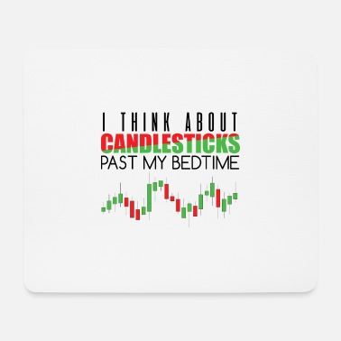 Stock Exchange Stock exchange candlesticks - Mouse Pad