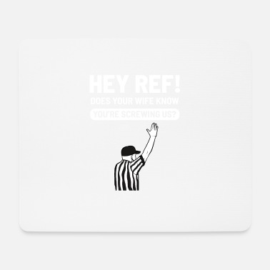 Defender Referee Screw Up Boxing Football Referee - Mouse Pad