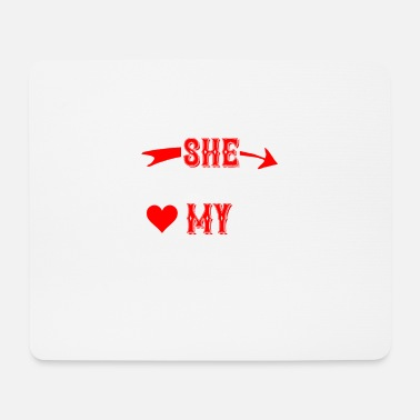 Love She Stole My Heart - Tapis de souris