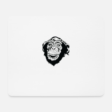 Fur chimp - Mouse Pad