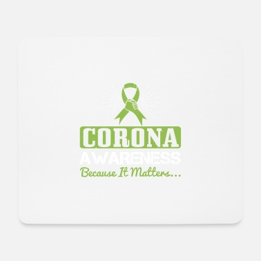Toilettes corona awareness because it matters - Tapis de souris